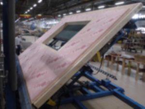 大型パネル量産機写真